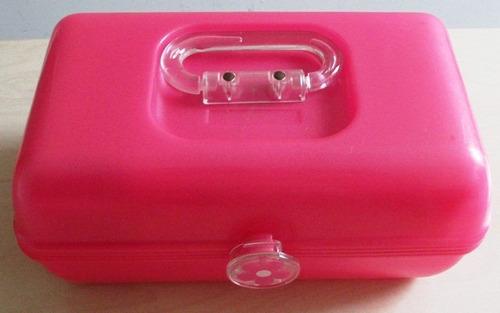 a8578 maleta importada para maquiagem, bijuterias etc em plá
