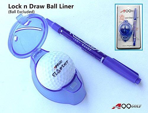 a99 pelota de golf del trazador de líneas de marcador v pla