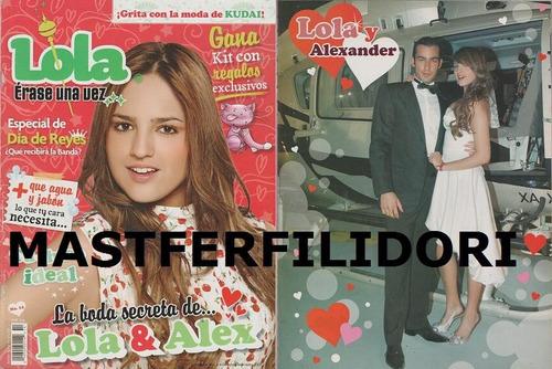 aaron diaz eiza gonzalez revista lola erase una vez #13-2008