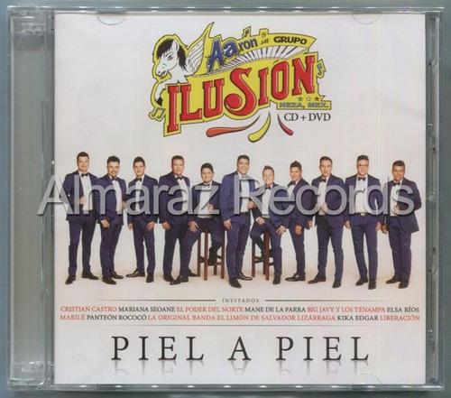 aaron y su grupo ilusion piel a piel cd+dvd