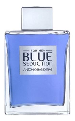 a.b blue seduction men edt x 200 ml san roque