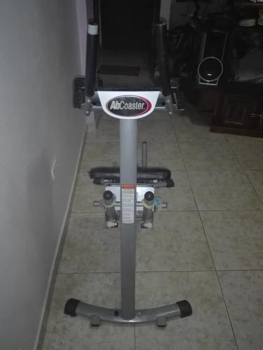 ab coaster alhletic original  maquina  para abdominales