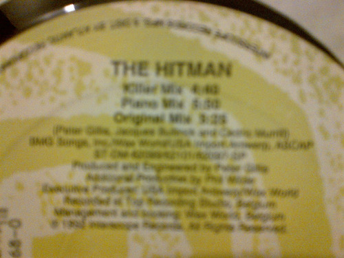 ab logic - the hitman vinyl max, hit de los 90s