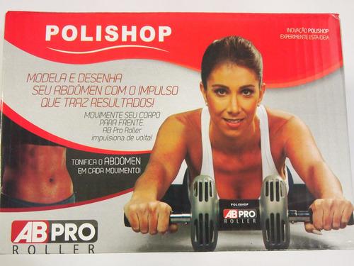 ab-pro roller p/ musculos do abdomen.