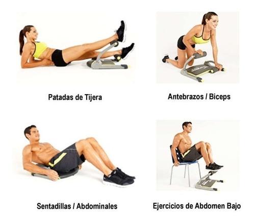 ab tomic maquina para hacer ejercicio y abdominales en casa