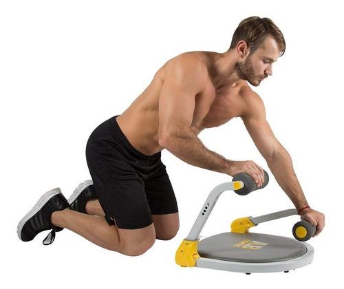 ab tomic maquina rutinas abdominal brazos glúteos tv 4 nivel