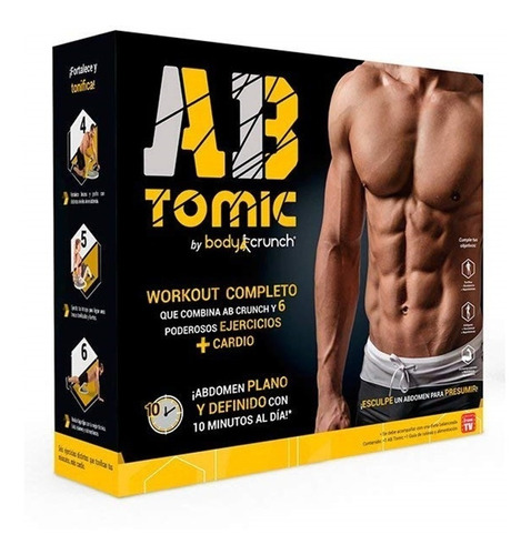 ab tomic original inova body crunch ¡garantía 12 meses!