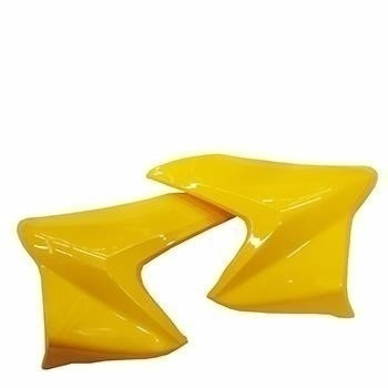aba tanque honda cb 300 - amarelo 2013