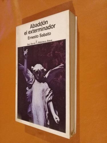abaddon el exterminador/ernesto sabato/seix barral,1981