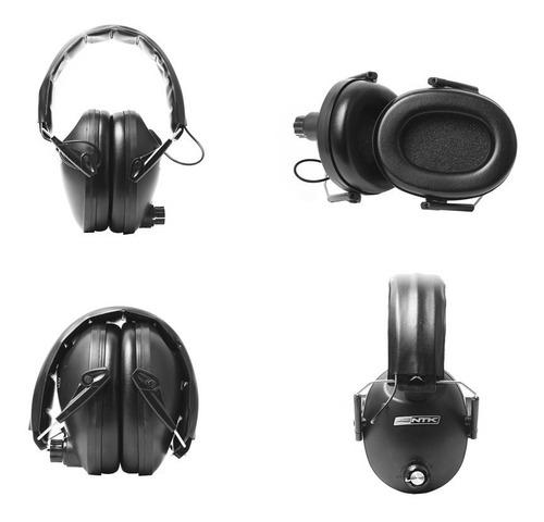abafador auricular eletrônico ntk cretz tiro esportivo