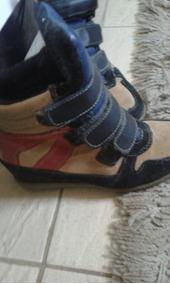 fedf5a4a6 Sapatos Franca Atacado Feminino Anabela - Botas Marrom em Minas ...