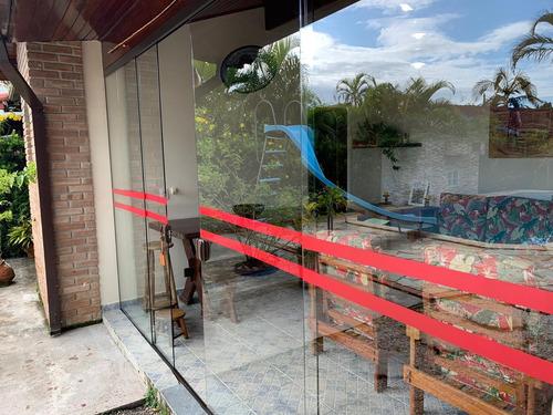 abaixou o preço- casa em condomínio morada da praia-bertioga