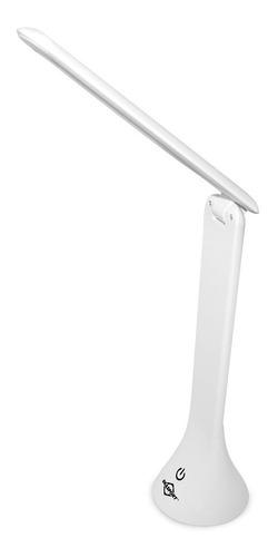 abajour luminária de mesa usb e pilhas de led touch brasfort