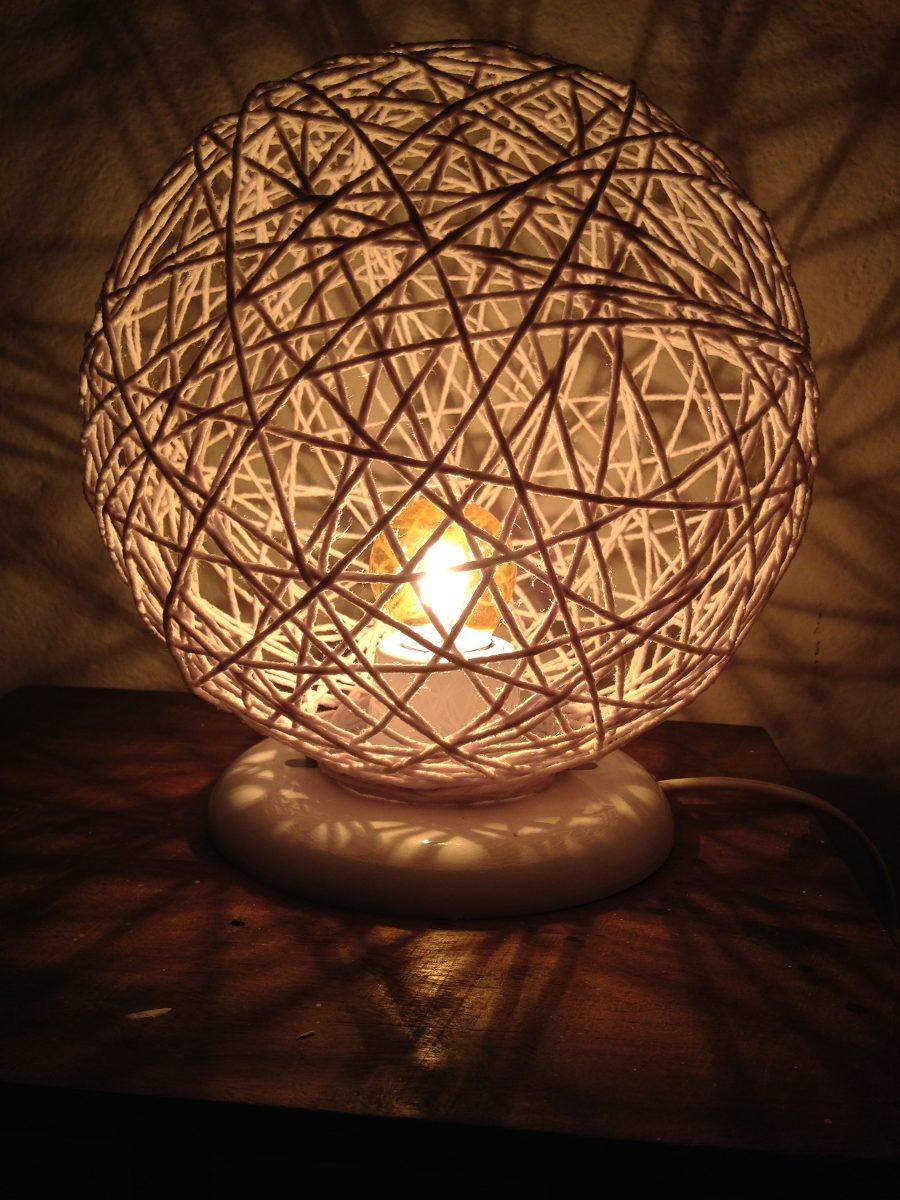 Iluminacao Para Quarto Mercado Livre ~ abajur artesanal para quarto, salas e todo tipo de ambientes