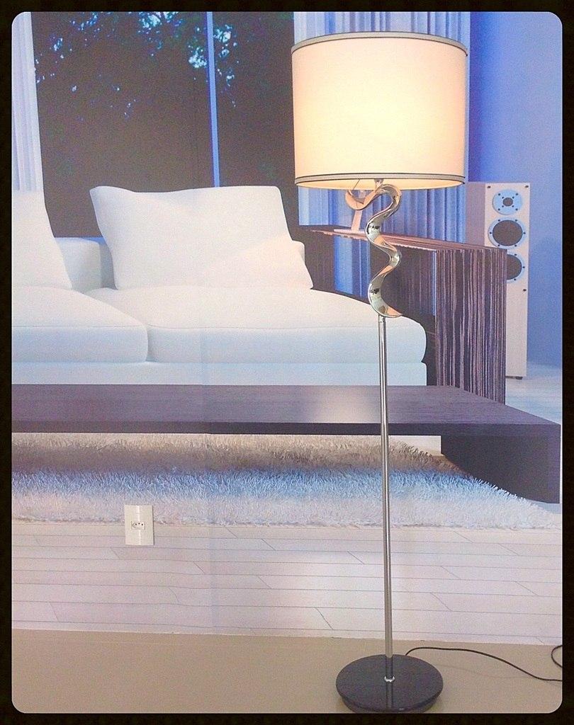 Iluminacao Para Quarto Mercado Livre ~ abajur coluna de ch?o moderna sinuosa para sala ou quarto