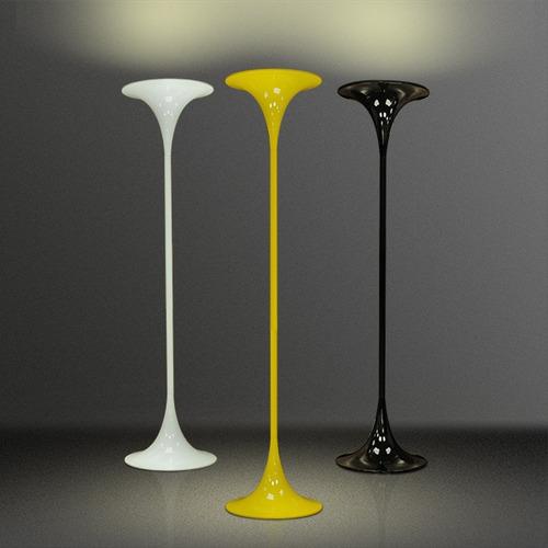abajur coluna luminária difusor colorido moderno c900-a gda