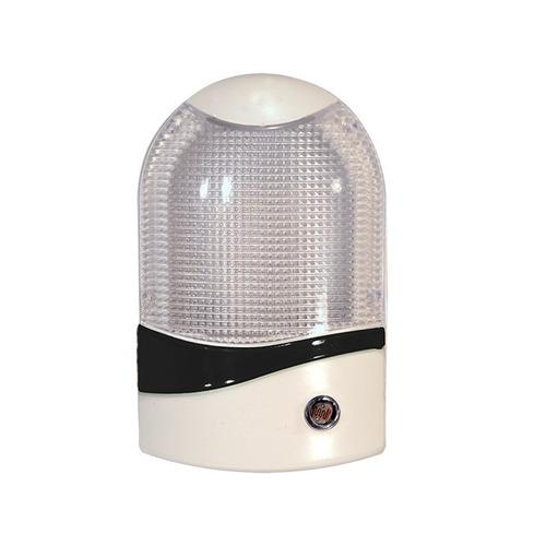 abajur de tomada com sensor noturno em led mini