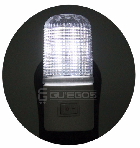 abajur de tomada luz noturna 4 leds bivolt - super promoção