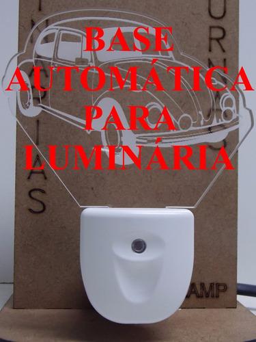 abajur de tomada mini automático, balões tripulados 3d =