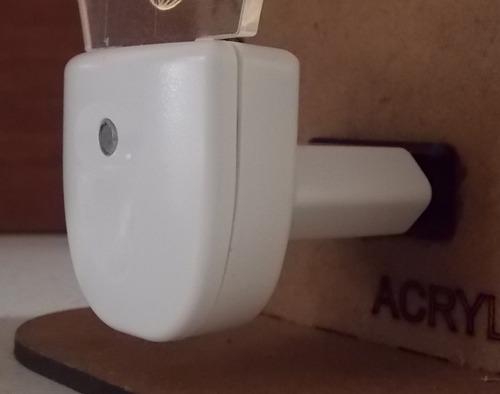 abajur de tomada mini automático dente personalizado 3d =
