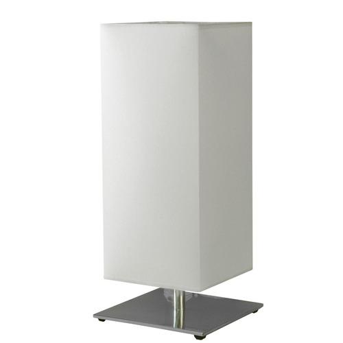 abajur luminária alumínio quadrado moderno 16x16 m711 gda