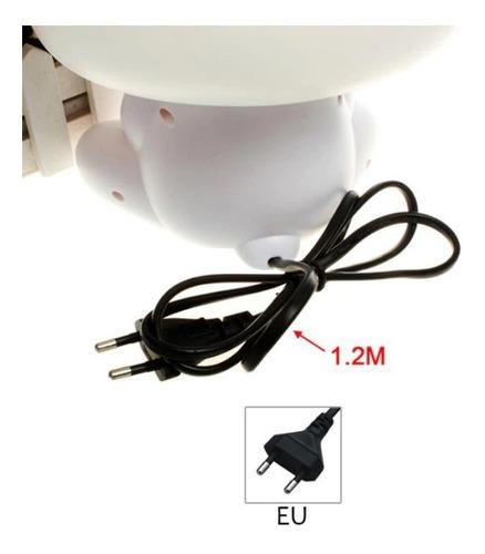 abajur luminária bivolt panda quarto bebê neném com lampada
