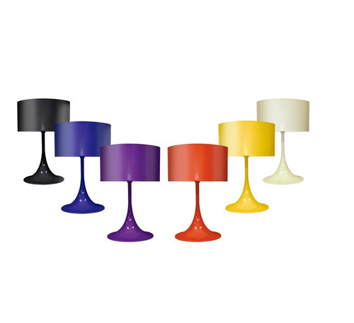 abajur luminária cone plástico moderno sala ø15 m901 gda