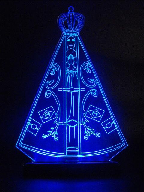 Imagens de Nossa Senhora Aparecida azul