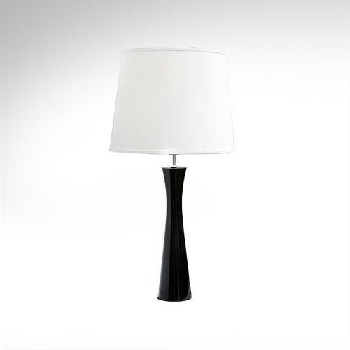 abajur luminária madeira preto moderno para sala m715 gda