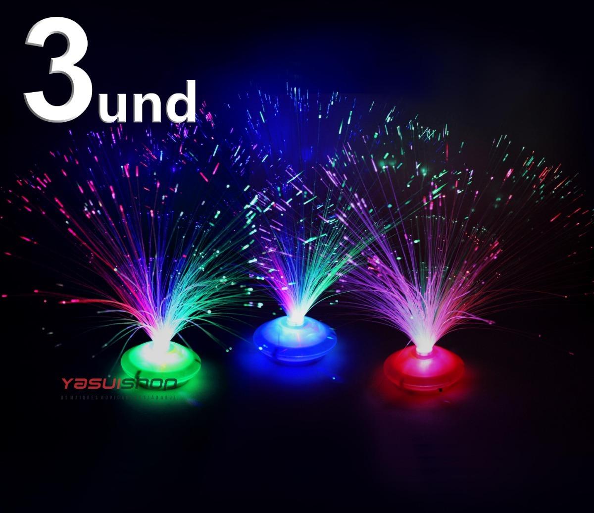 bf80064387952 abajur luz fibra optica luminarias de mesa enfeite decoracao. Carregando  zoom.
