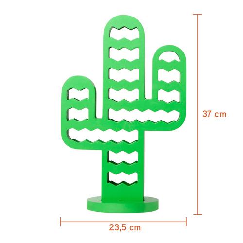 abajur mandacaru verde 40cm