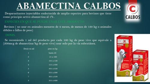abamectina x 500 ml lab calbos