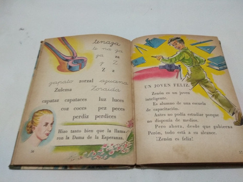 abanderados, libro de lectura inicial. f. veronelli  1955