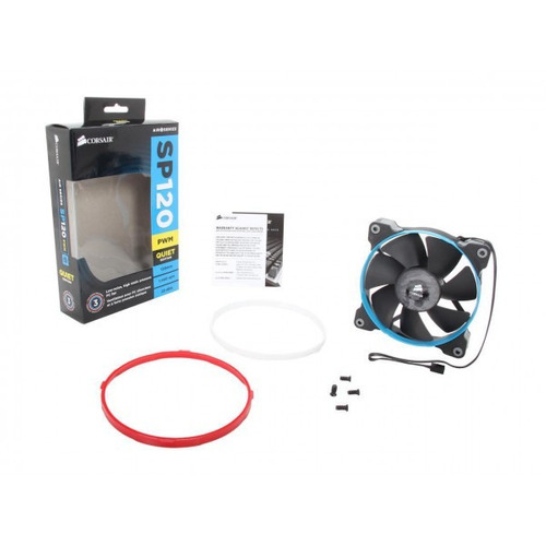 abanico corsair led 120mm co-9050007-ww somos itech shop