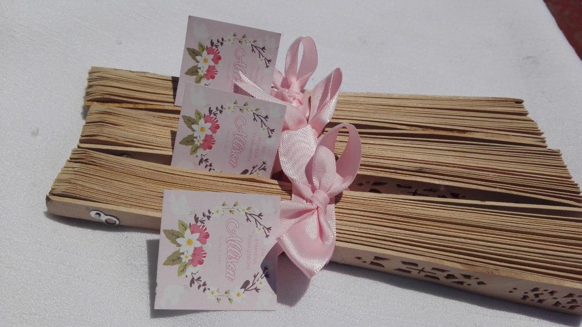 Abanico personaliza recuerdo fiesta xv a os boda - Abanicos para decorar ...