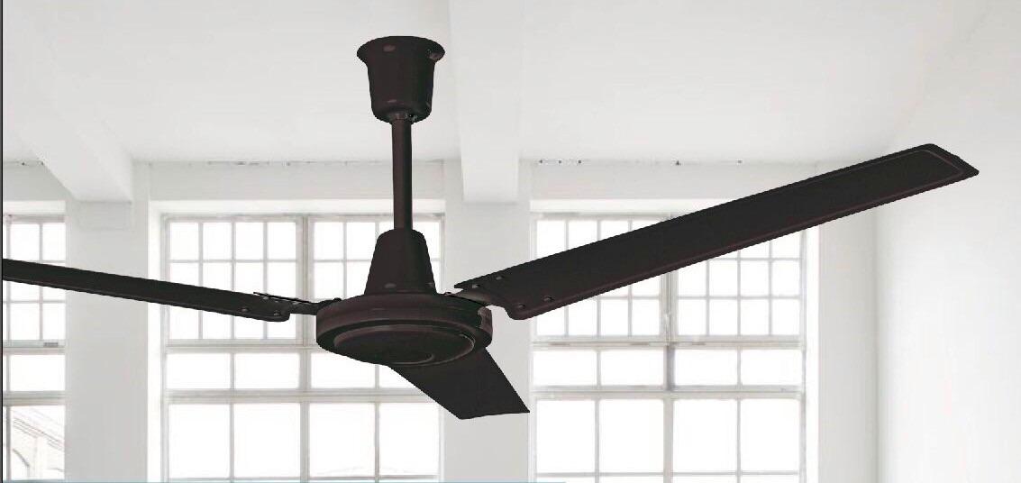 Abanico ventilador techo estevez greco chocolate industrial en mercado libre - Ventiladores modernos de techo ...