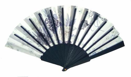 abanicos chinos tela souvenir regalos