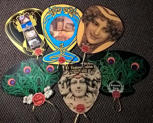 abanicos souvenir eventos con pulsera impresos a su gusto