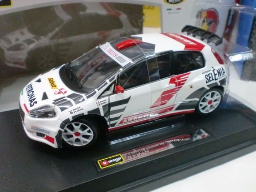abarth grande punto rally s2000. 1/24 burago race