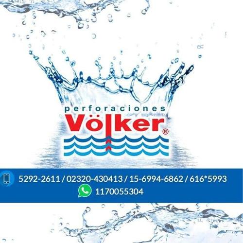 abastecimiento de agua.perforaciones völker marca registrada
