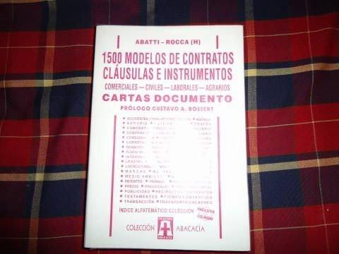 abatti - rocca(h)1500 modelos de contratos c.documento ccd