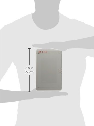abb m127640000 gabinete vacío puerta opaca ip65, 220x140x1