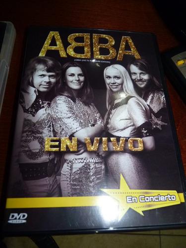 abba 4 dvd 3 en concierto y 1 dvd videos + 2 cd calidad 9