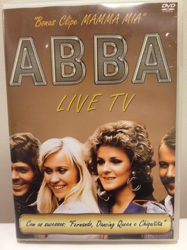 abba live tv - dvd