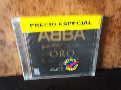 abba. oro. grandes exitos. cd.