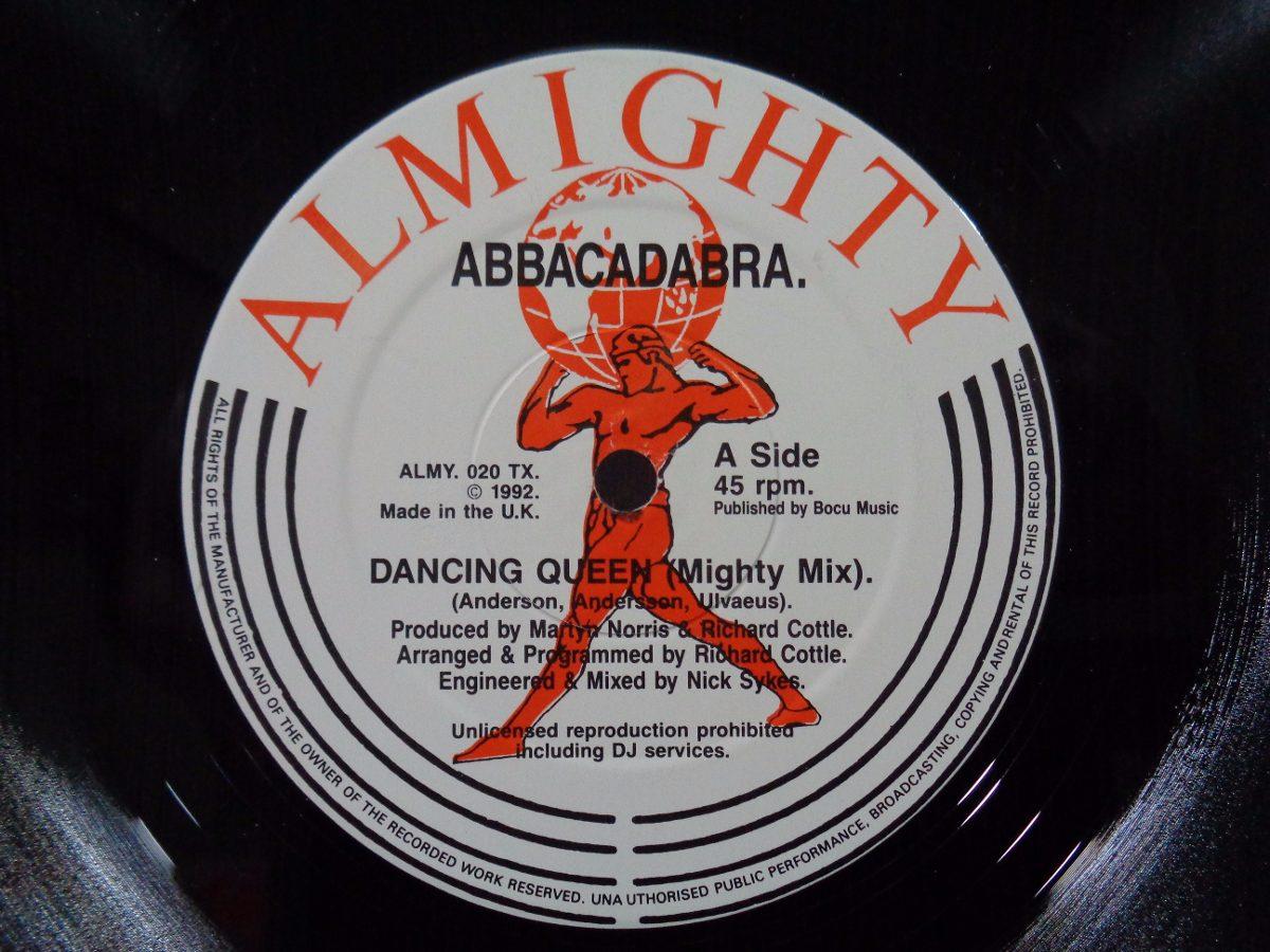 Abbacadabra - Dancing Queen ( Remix ) 12'' Uk Hi Nrg, Disco