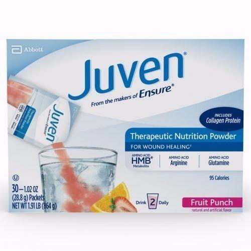abbott nutrition juven fruit punch, 24 gr