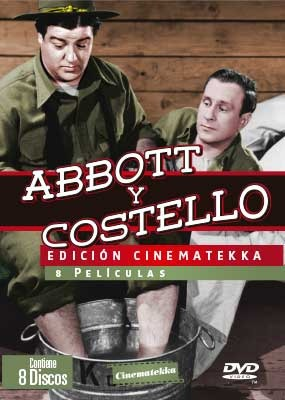 Abbott Y Costello Vol1 8 Discos Dvd