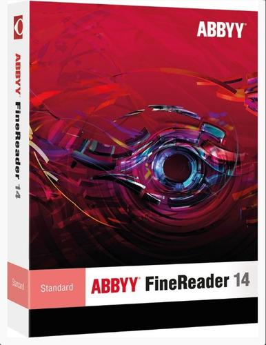 abbyy finereader v14 ultima versión, editor de pdf