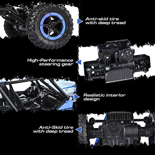 abco tech 114 rc jeep rock crawler monster truck coche remot